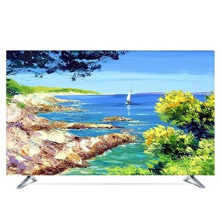 YXZN 3D TV Cubierta de Polvo Lavable Protector Solar Protector de ...
