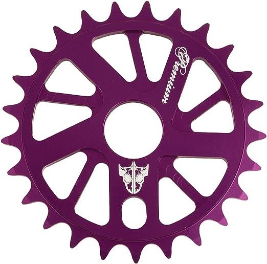 Premium Products - Plato para bicicletas, color morado, talla 25t ...