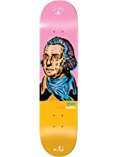 Enjoi HG 10017597 Zack Wallin Presidents Skateboard Deck, 8.0