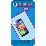 ownstyle4you Protection d'écran pour Samsung Galaxy A3 Film Protecteur anti brise / Vitre en VERRE Trempé (Tempered Glass Guard), protection d'écran tactile de haute résistance, LCD, cristal, transparent, anti-rayure, anti choc, anti-empreintes