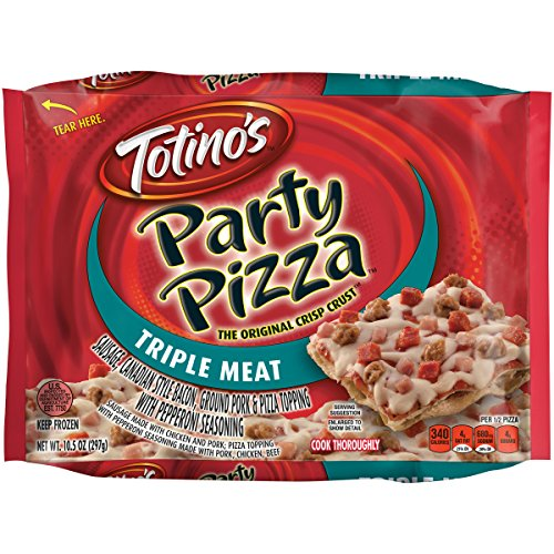 Totino's Party Pizza, Triple Meat, 10.5 oz -