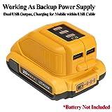 USB Power Source DCB090 for DEWALT 14.4V 18V/20V