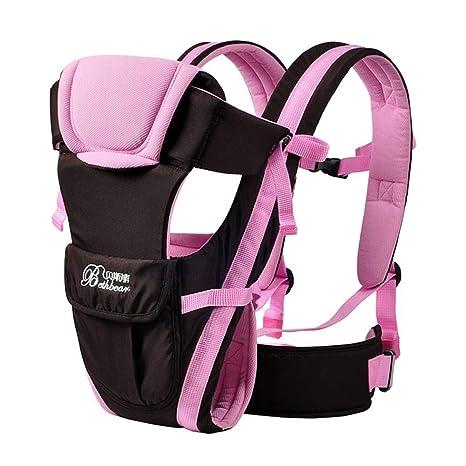 Silveroneuk - Mochila de transporte para bebés de 0 a 24 meses, transpirable, para