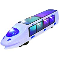 Electric Train Toy with Action Flashing Lights - Battery Powered. 3D Effect (Ages 3 yrs and up).