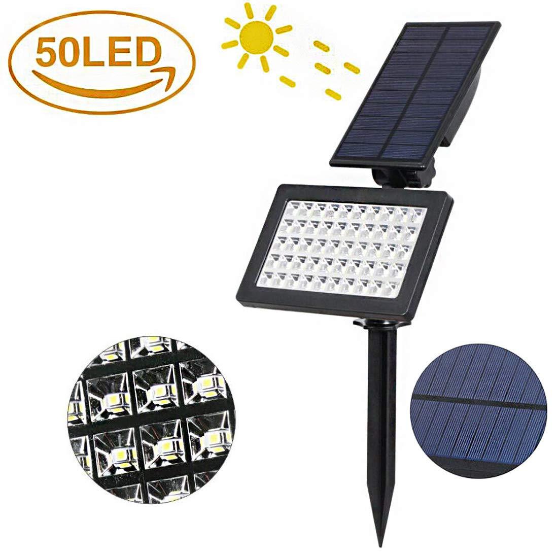 Solar lampioni Luce Esterna Plug in Lampada da Parete Notte Luce Giardino LED Prato Luce Paesaggio luci Giardino luci automaticamente Aperto spento