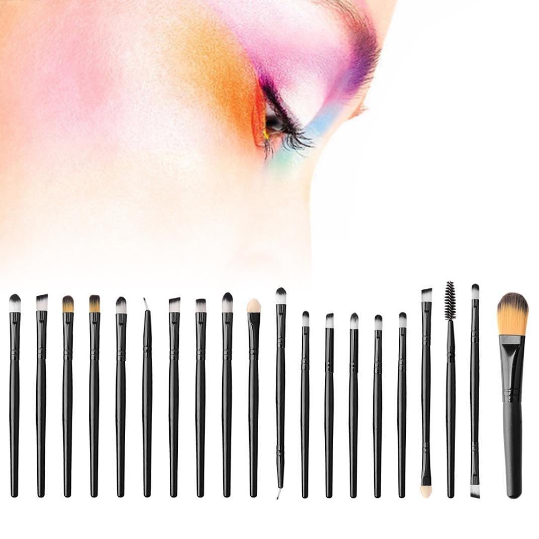 GADDRT - Juego de 20 brochas de maquillaje para maquillaje: Amazon ...