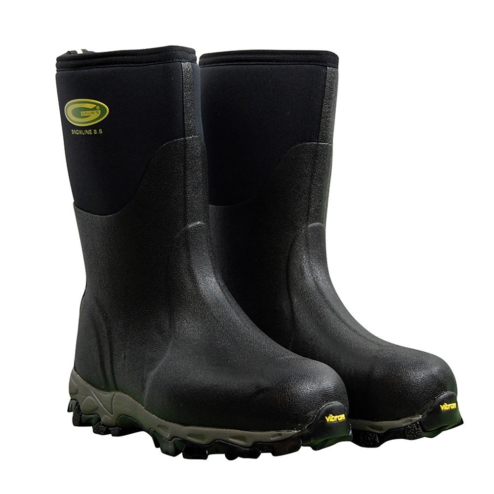 Grubs Snowline Mid height Snow/Mud Boots; Insulated To -40° (9 D(M) US) by Grubs