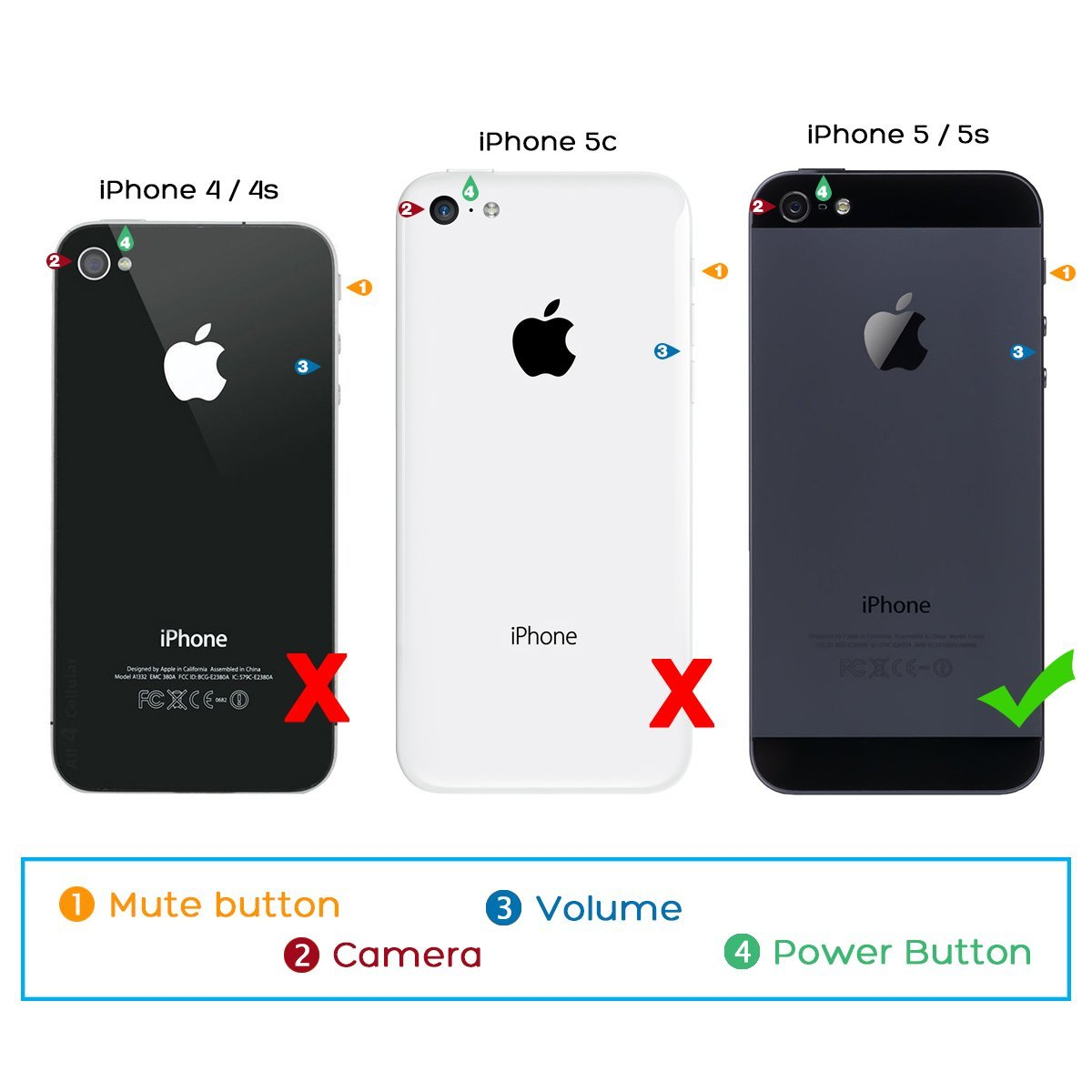 huge discount ab460 e6689 ULAK iPhone 5S Case, iPhone 5 Case,iPhone SE Case, Slim Fit Protection Case  Hybrid Scratch Resistant Hard Back Cover Shock Absorbent TPU Bumper ...