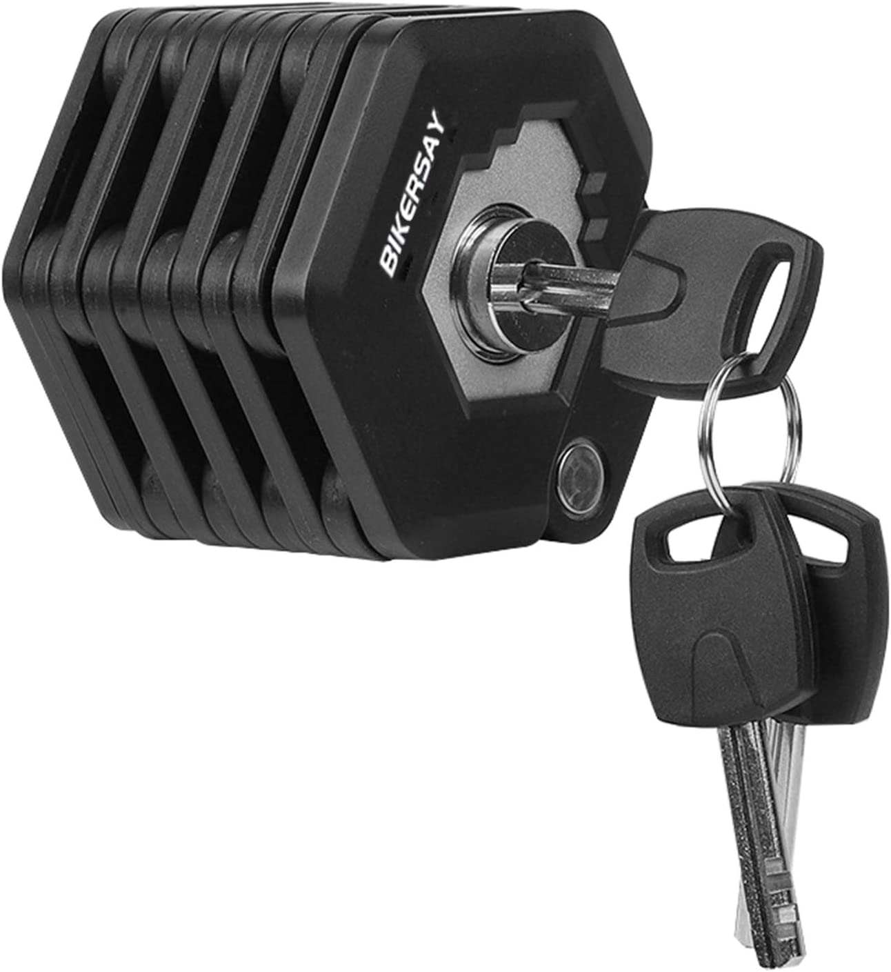 Bike Lock Security Anti-theft Bicycle Chain Lock-No Keys Required Outdoor