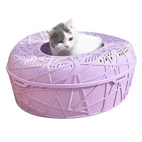 Jlxl Caja De Aseo para Mascotas, Arenero para Gatos, Caja De ...