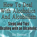 How to Deal With Alcoholics And Alcoholism: Steps And Tips Dealing With an Alcoholic Audiobook by Sky Stevens Narrated by Claton Butcher