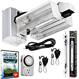Yield Lab Pro Series 1000W HPS Double Ended Open Hood Grow Light Kit Easy Set Up Full Spectrum System For Indoor Plant And Hydroponics – Free Timer and 12 Week Grow Guide DVD For Sale