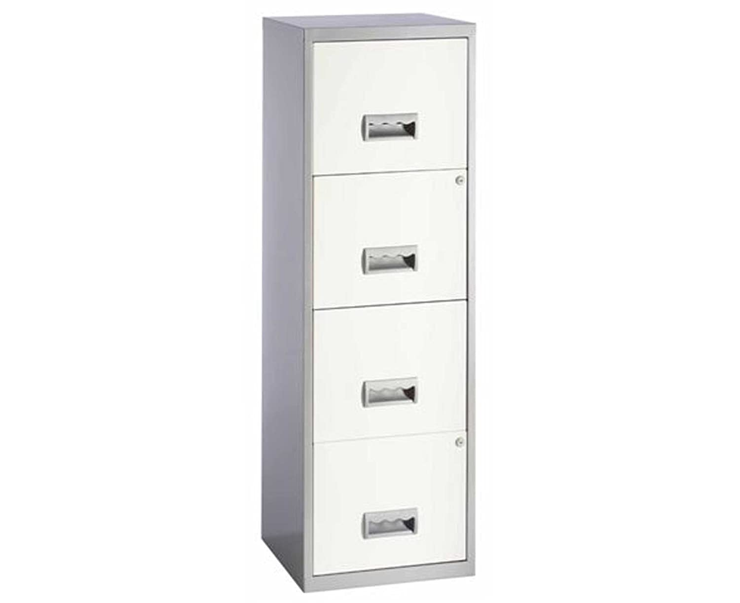 Pierre Henry A4 4 Drawer Maxi Filing Cabinet (Black)