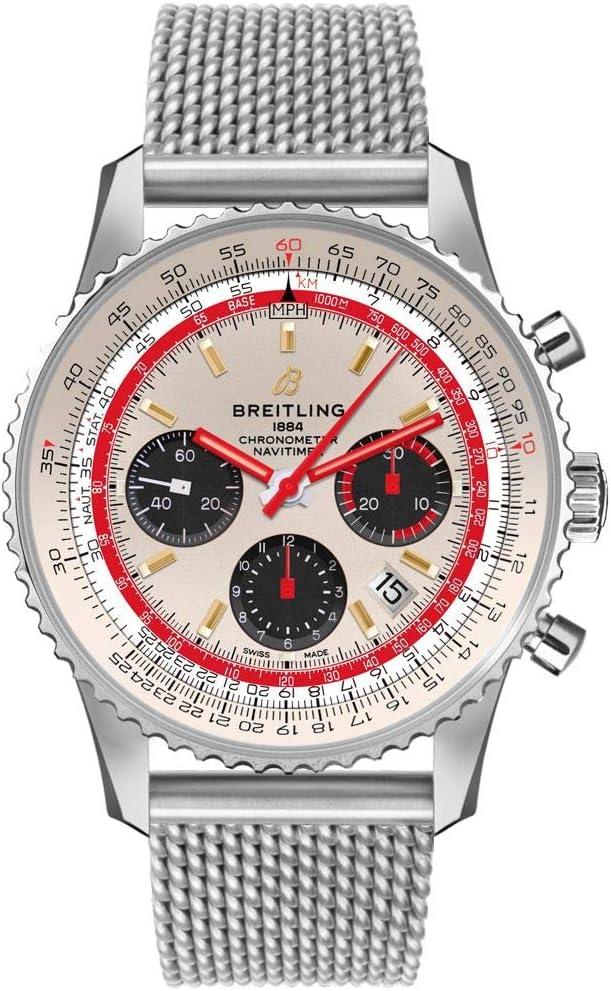 Breitling Navitimer 43MM TWA Men's Watch AB01219A1G1A1