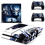 Alien VS Predator ps4 skin decal for console and 2 controllers