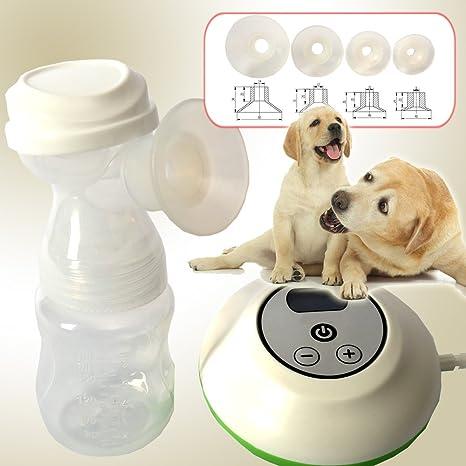 Extractor de leche eléctrico para mascotas plástico mascota perro cachorro gato leche botella Enfermería Alimentación potable