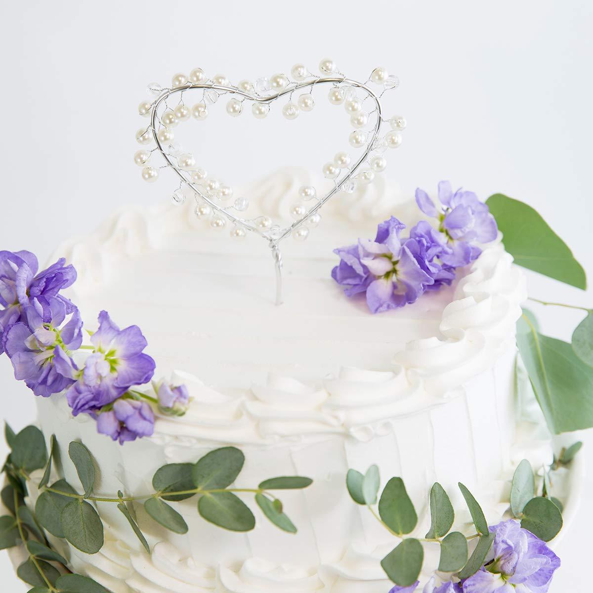 Princess Cake topper Princess crown cake topper Silver and Purple