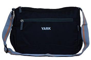Buy Yark Unisex Sling Bag(Black, Y2103Black) Online at Low Prices ...