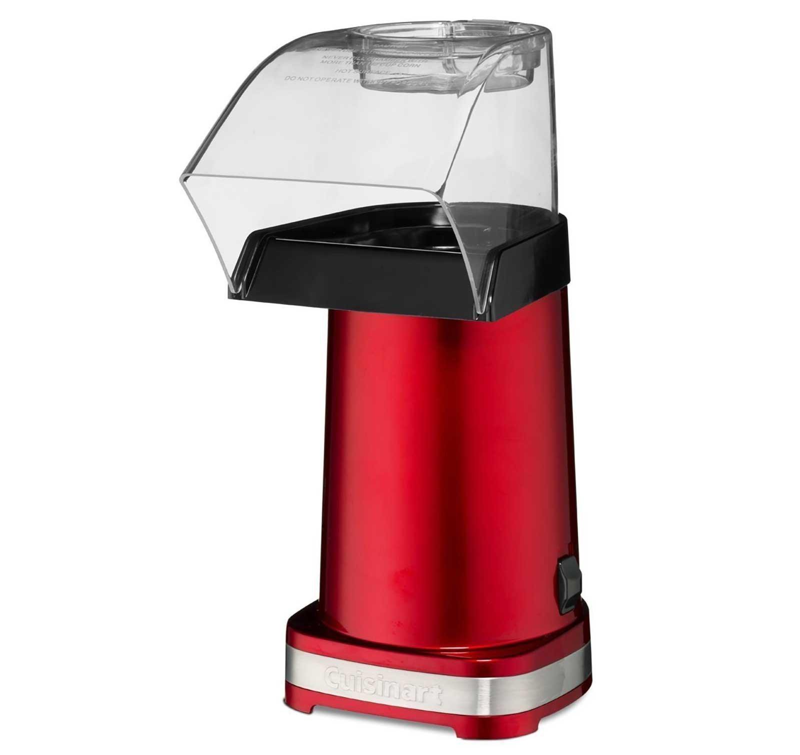 Cuisinart EasyPop Hot Air Popcorn Maker (Red) (Certified Refurbished)