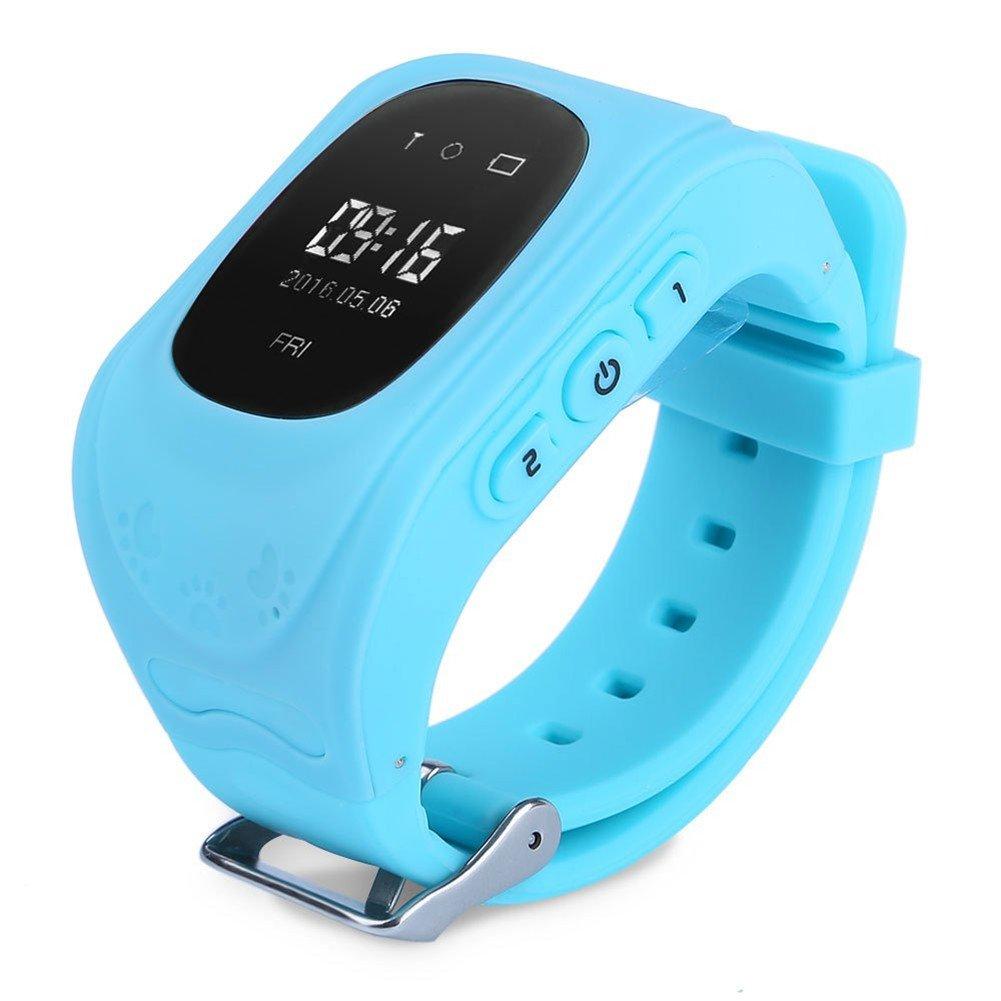 Q50 inteligente de los niños reloj de pulsera para muñeca anti-lost lbs Tracker SOS Llamada Location Finder remoto Monitor Parent control por iPhone y ...