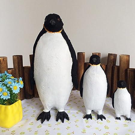 3 STÜCKE Pinguin Tier Statue Künstliche Gefiederte Haus Garten Dekor