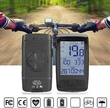 Cuentakilómetros para bicicleta, velocímetro para bicicleta al ...