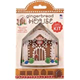 Small Gingerbread House Cookie Cutter Kit - Ann Clark - 4 Inch - US Tin Plated Steel