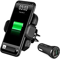 IKOPO Wireless Car Charger Phone Mount Holder