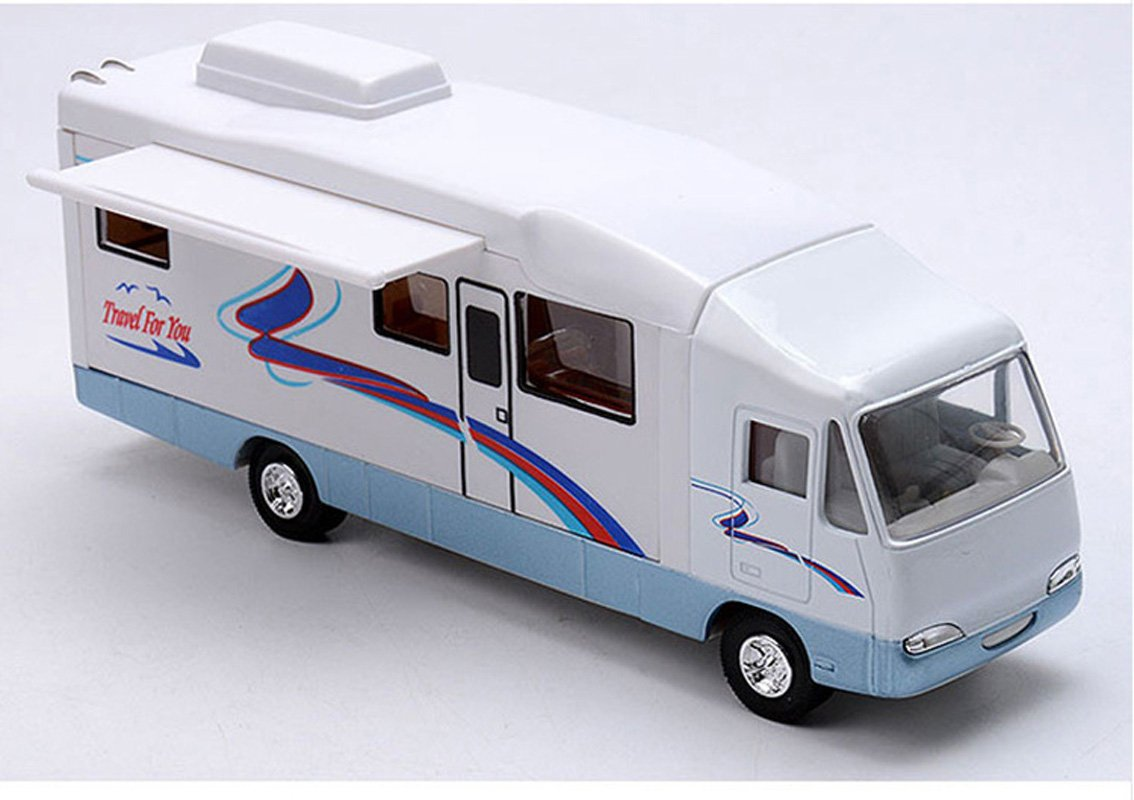 Amazon HAPTIME 76 Cool Mini Motorhome Toy Die Cast Pullback Recreational Vehicle For Kids Toys Games