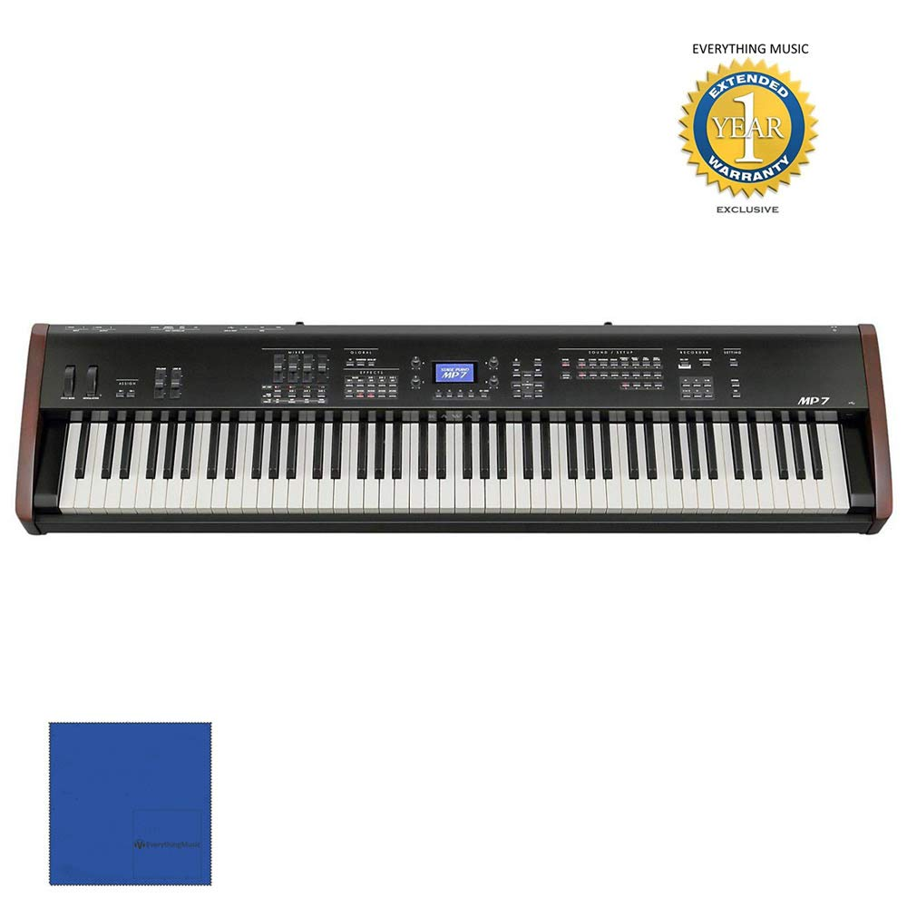 Kawai MP7 88-key Stage Piano and Master Controller with 1 Year Free Extended WarrantyandMicrofiber by Kawai