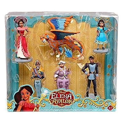 Disney Collection Princess Elena of Avalor 6 Piece Figurine Playset Figure Play Set With Skylar: Toys & Games