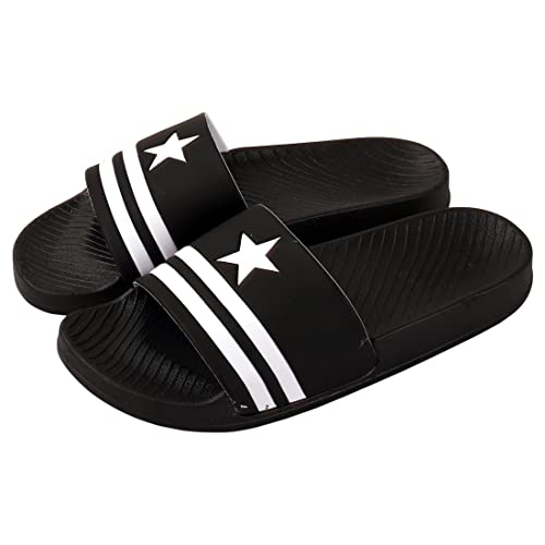 b32d92a3230cea Falcon18 Men s Rubber Slippers  Buy Online at Low Prices in India ...