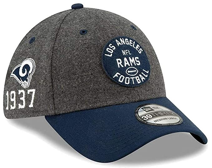 New Era Los Angeles RAMS On Field 2019 Sideline Home 39Thirty ...