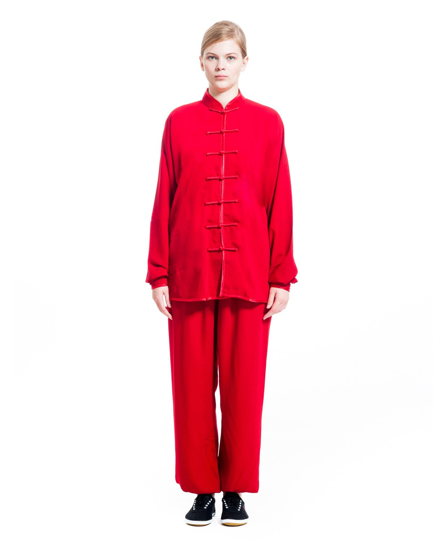 ICNBUYS Women's Tai Chi Uniform Cotton Silk WTCUCS000