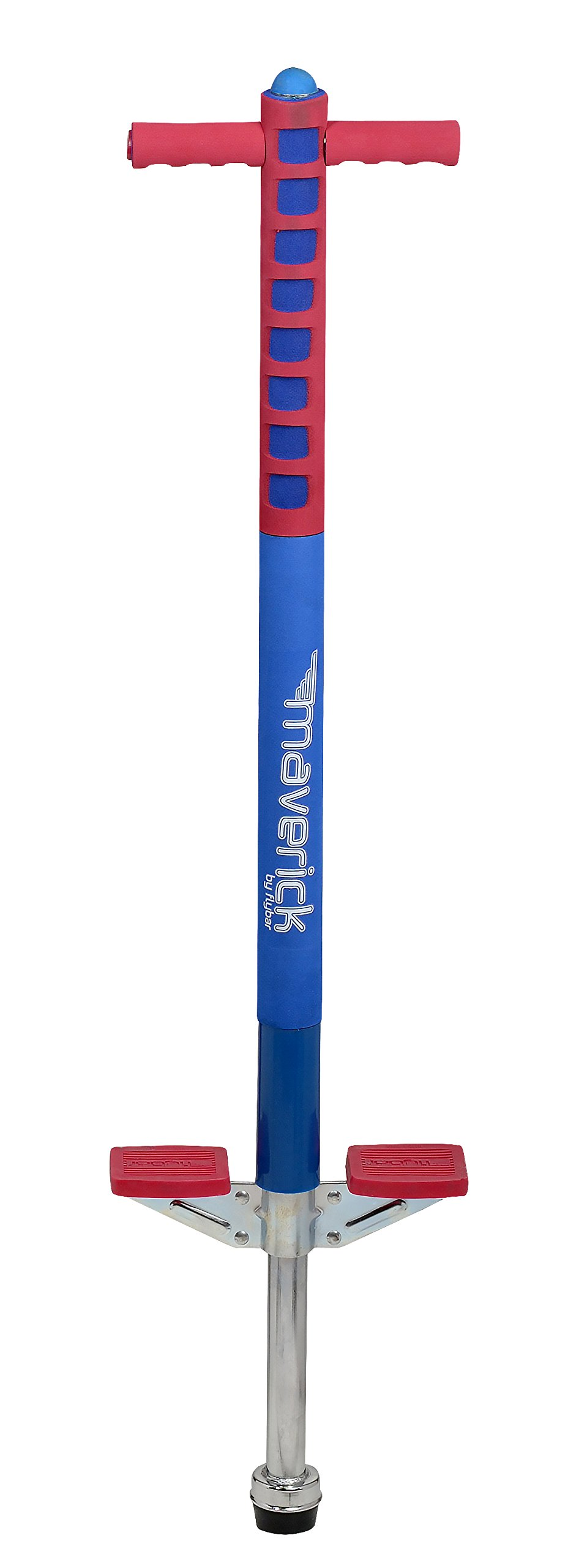 Flybar Foam Maverick Pogo Stick for Kids Ages 5+, Weights 40 to 80 Pounds by The Original Pogo Stick Company by Flybar