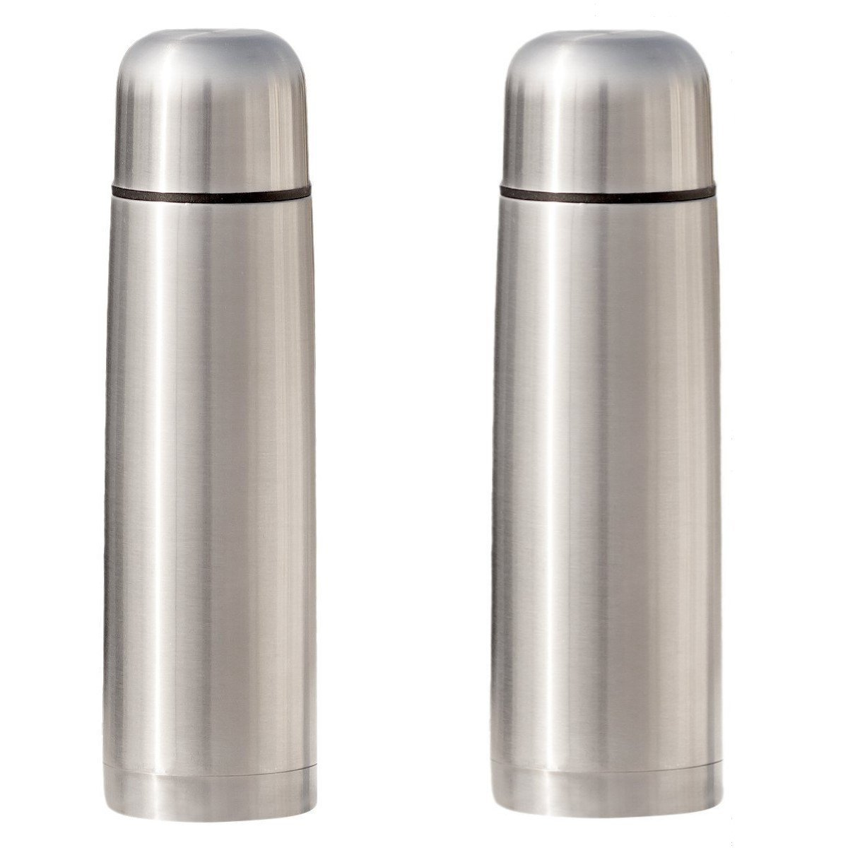 Stainless Steel Coffee thermos - Vacuum Insulated for Hot Tea - Cold Water Bottle 17 oz 2 Pack