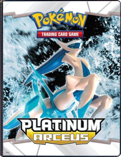 - Ultra PRO Pokemon PLATINUM ARCEUS 4 POCKET Combo Album PORTFOLIO (Pokemon Trading Card Album / Binder)