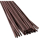 Feel Fragrance Reed Diffuser Sticks Replacement Rattan 12 X 0.12 Inches Brown (60pcs)