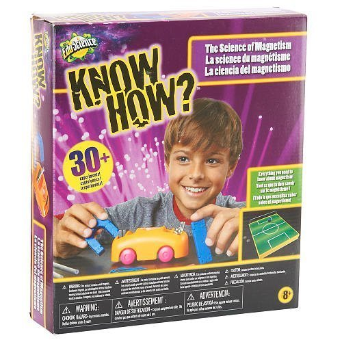 Edu Science Know How? The Science of Magnetism by Know How (Electromagnet Set Science)