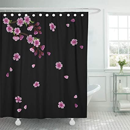 Amazon Emvency Fabric Shower Curtain Curtains With Hooks Grin