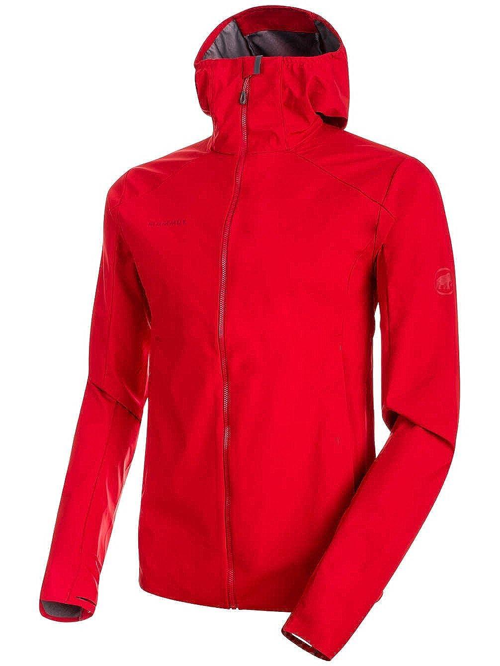 Mens Magma XL Mammut Ultimate V Light SO Hooded Jacket