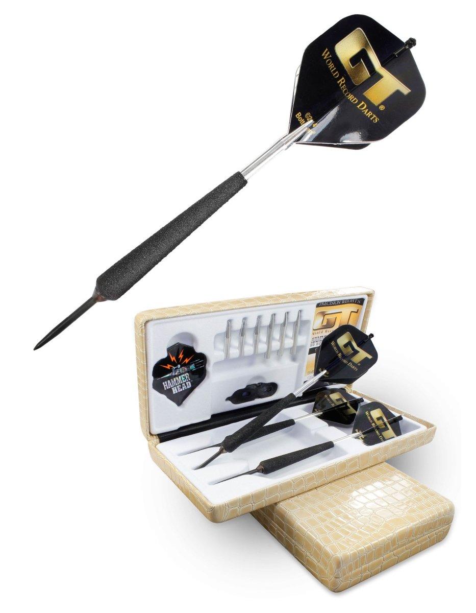 Bottelsen Gt Hammer Head Steel Tip 90% Tungsten Gt 24 Gram Dart, Black, 9/32'' by Bottelsen