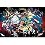 Pokemon Mega Evolutions PKMN Maxi Poster 91.5x61cm