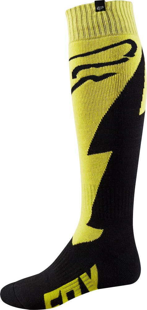 2018 Fox Racing FRI Thick Mastar Socks-Yellow-M