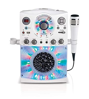 Singing Machine SML385UW Bluetooth Karaoke System