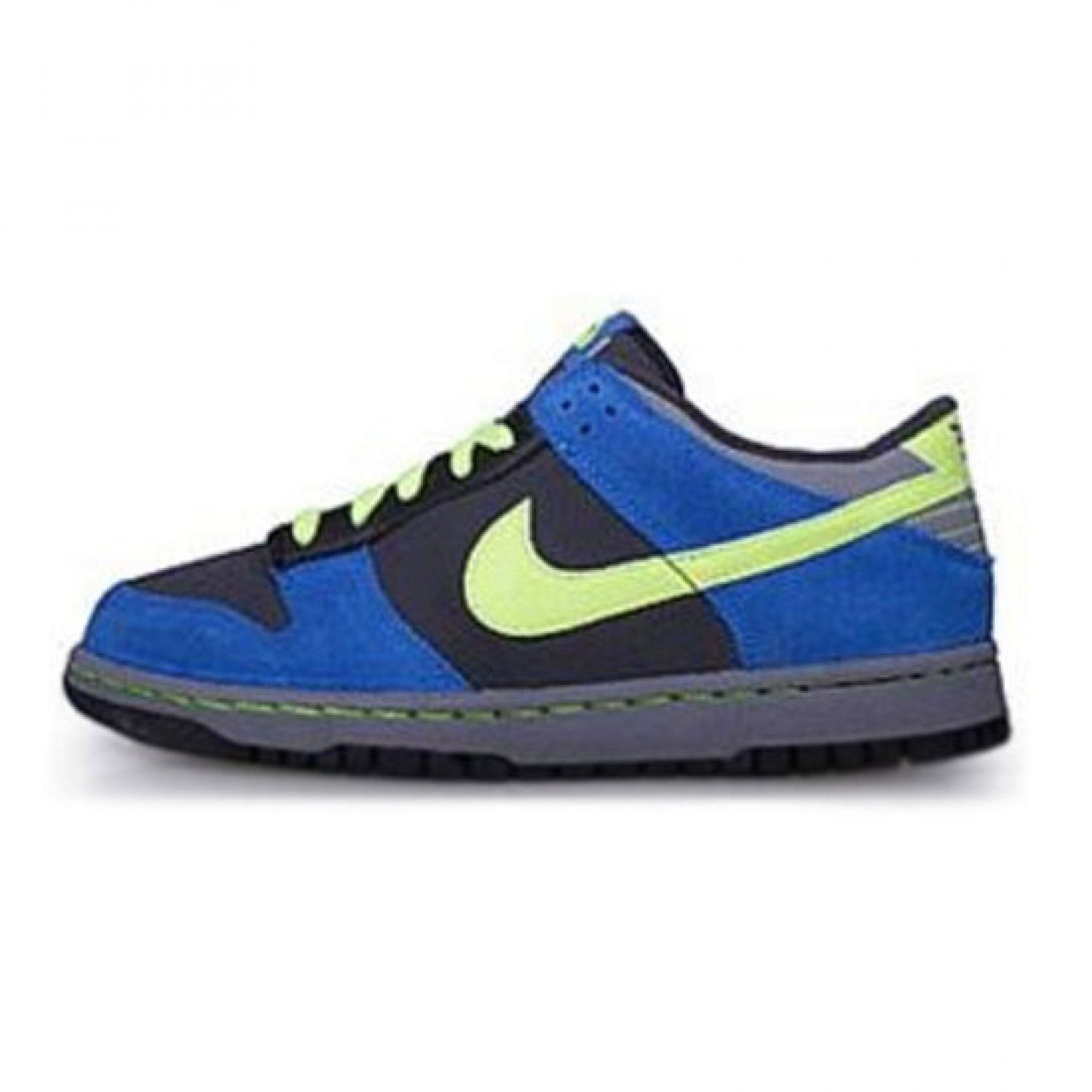 new style ab88b 79625 310569-008 NIKE DUNK LOW GS GRADE SCHOOL SHOES BLKNTRL GRY VRSY RYLSPRT RD  Anthracite  Vlt - Bl Spphr - Cl Gry 7 M US Big Kid Buy Online at Low  Prices in ...