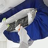 エアコン洗浄カバー Seitor エアコンフィン 洗浄シート エアコン掃除用 家庭用 クリーニング 壁掛け (大サイズ)