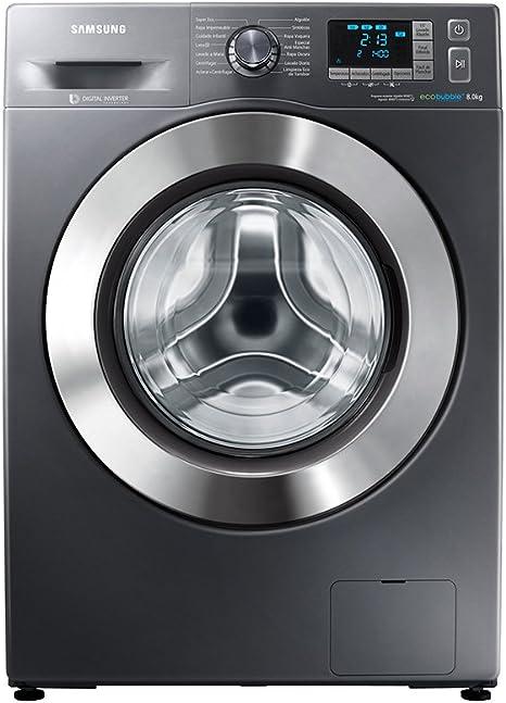 Samsung - Lavadora (Independiente, Carga frontal, Grafito, Botones ...
