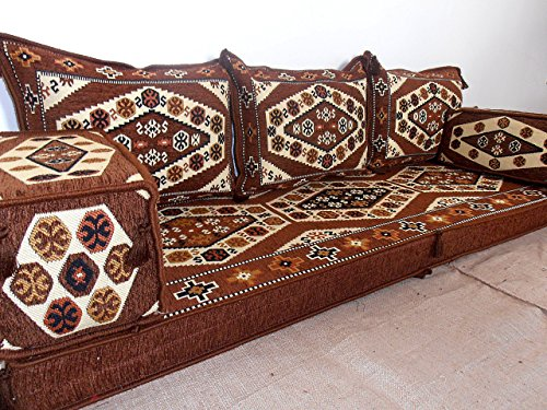 Traditional oriental floor seating,floor sofa,arabic cushions,arabic seating,arabic couch - MA 30