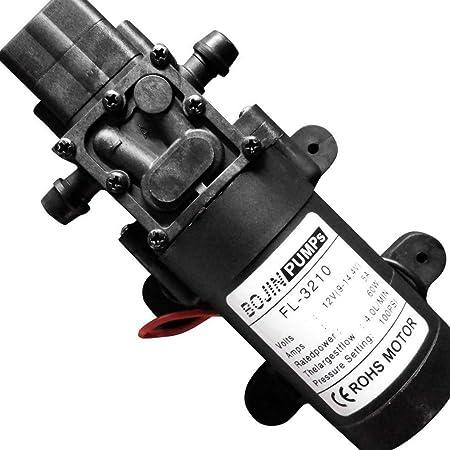100PSI 4L//Min High Pressure Diaphragm Water Pump For RV Caravan Boat Garden